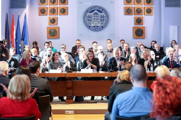 Održana panel rasprava o Direktivi o autorskim pravima na Sveučilištu u Zagrebu