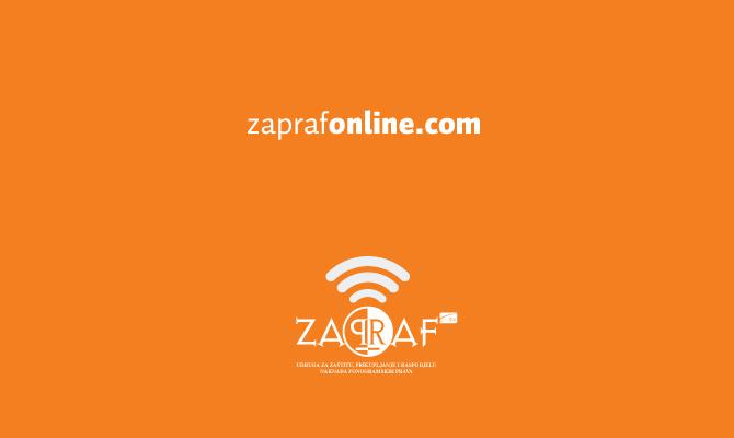 Obavijest – prestanak rada u ZAPRAF bazi!